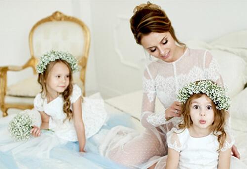 Bruidsmeisjes kids